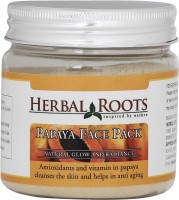 Herbal Roots Skin Whitening Papaya Face Pack (100 G)