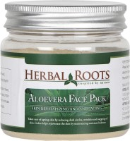 Herbal Roots Skin Care 100% Natural Beauty Product - Aloe Vera Face Pack (100 G)