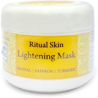 Auravedic Skin Lighening Mask With Sandal Saffron (200 G)