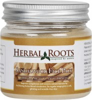 Herbal Roots Skin Care 100% Natural Beauty Product - Sandalwood Face Pack (100 G)