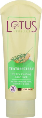 Lotus Herbals Tea Tree Clarifying Face Pack 60 g