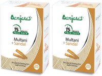 Banjaras Multani With Sandal 100gms Set Of 2 Packs (200 G)