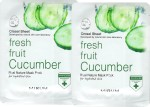 Mirum Face Packs Mirum Cucumber Real Natural Mask Pack