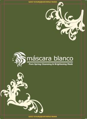 Mascara Blanco Face Packs Mascara Blanco Pure Spring Cleansing & Brightening Mask