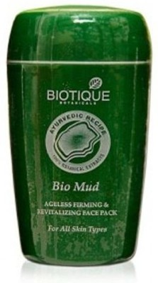 Biotique Skin Care Rejuvenating and Skin Tightening for Face and Body Mud Pack 85 g