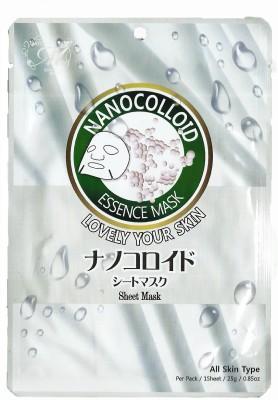 Mitomo Face Packs Mitomo Nanocolloid Natural Sheet Mask