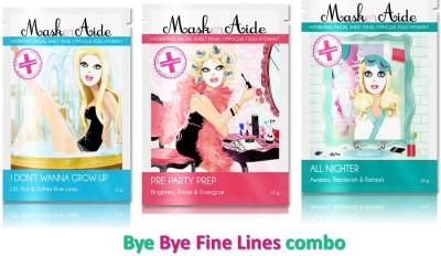 Maskeraide Face Packs Maskeraide Anti Wrinkle Masks