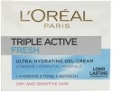 L'Oreal Paris Triple Active Fresh Gel Cream - 50 Ml