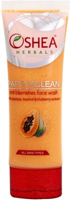 Oshea Herbals Papayaclean Anti Blemish Face Wash
