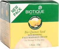 Biotique Bio Quince Seed Nourishing Face Massage Cream (50 G)