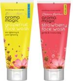 AromaMagic Face Washes AromaMagic Grape Fruit ,Strawberry Face Wash
