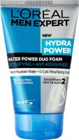 L'Oreal Paris Men Expert Hydra Power Duo Foam Face Wash (100 Ml)