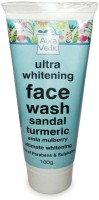 Auravedic Ultra Whitening With Sandal Turmeric Face Wash (100 G)