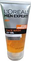 LOREAL PARIS Men Expert Hydra Energetic Icy Gel  Face Wash (150 Ml)