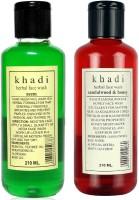 Khadi Herbal Combo-1 Face Wash (420 Ml)