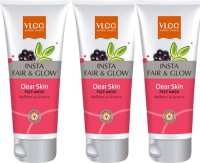 VLCC Insta Fair & Glow Clear Skin Face Wash Pack Of 3 Face Wash (150 Ml)