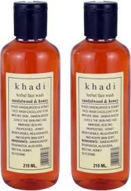 Khadi Sandal & Honey Herbal Face Wash - 420 Ml