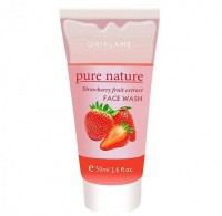 ORIFLAME SWEDEN Pure Nature STRAWBERRY FRUIT EXTRACT  Face Wash (50 Ml)
