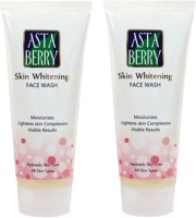 Astaberry Skin Whitening Scrub-Pack Of 2 Face Wash (120 G)