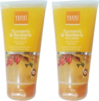 VLCC Turmeric & Berberis With Bacopa & Aloe Vera (Pack Of 2) Face Wash (300 Ml)