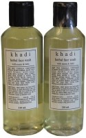 Khadi Neem & Tulsi Face Wash (Pack Of 2) Face Wash (420 Ml)