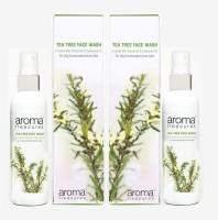 Aroma Treasures Tea Tree (100ml) (Pack Of 2) Face Wash (200 Ml)