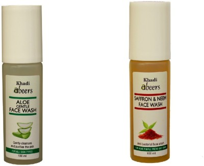 Abeers Face Washes Abeers Khadi Pomegranete and Saffron Neem Face Wash