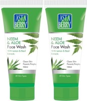 Astaberry Neem & Aloe Pack Of 2 Face Wash (200 G)