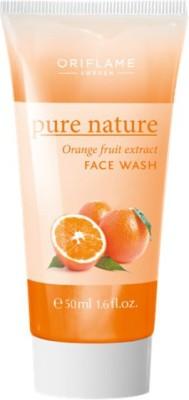 Pure Nature Orange Fruit Extract Face Wash (50 Ml)