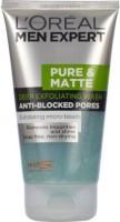 Loreal Men Expert Pure & Matte Deep Exfoliating Anti Blacked Pores Face Wash (150 Ml)