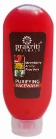 Prakriti Herbals Purifying Strawberry Arnica Aloevera Facewash Face Wash