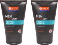 VLCC Men Active Light Pack Of 2 Face Wash (200 G)