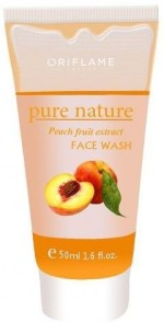 Oriflame Face Washes Oriflame Pure Nature Peach Fruit Extract Face Wash