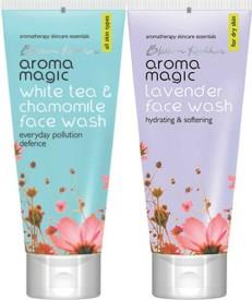 Aroma Magic White Tea & Chamomile ,Lavender Face Wash