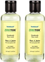 Healthbuddy Zerotox Handmade Neem & Teatree, 2 Packs Of 210ml Each Face Wash (420 Ml)