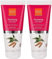 VLCC Foaming Wheat & Margosa (Pack Of 2) Face Wash (200 Ml)