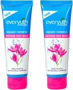 Everyuth Face Washes Everyuth Radiant Fairness Saffron Twin Pack Face Wash
