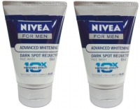 Nivea For Men Advanced Whitening DSR Face Wash (Pack Of 2) Face Wash (200 Ml)