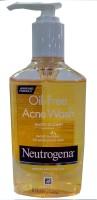 Neutrogena Oil Free Acne Face Wash: Face Wash