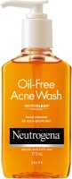 Neutrogena Oil Free Acne Face Wash: Face Wash