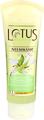 Lotus Herbals Neem & Clove Ultra - Purifying Face Wash 80 g