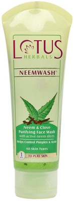 Lotus Herbals Face Washes Lotus Herbals Neem & Clove Purifying Face Wash