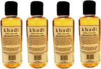 Khadi Herbal Sandalwood & Honey Pack Of 4 Face Wash (840 Ml)