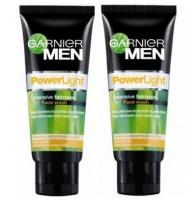 Garnier Men Power Light Intensive Fairness (Pack Of 2) Face Wash (100 G)