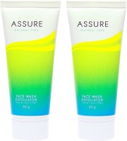 Assure Natural Pure Exfoliator (Pack Of 2) Face Wash (120 G)