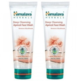 Himalaya Herbals Deep Cleansing Apricot - (Pack Of 2) Face Wash - 200 Ml