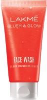 Lakme Blush & Glow Strawberry Gel Face Wash (50 G)