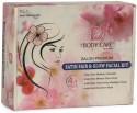 The Body Care Salon Premium Satin Fair And Glow Facial Kit 400 G - Set Of 4