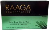Raaga Professional Anti-Acne Facial Kit With Lemongrass Oil 58 G (Set Of 7)