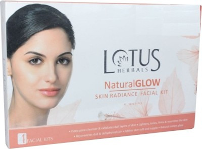 Buy Lotus Herbals Natural Glow Skin Radiance Facial Kit: Facial Kit